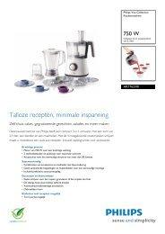 HR7762/00 Philips Keukenmachine - 4AllShop