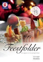 Feestfolder - Traiteur Boddez
