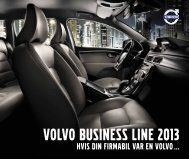 VOLVO BUSINESS LINE 2013