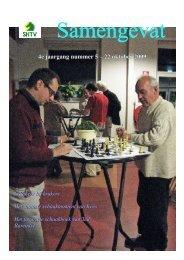 4e jaargang nummer 5 – 22 oktober 2009 - Schaakcombinatie HTV