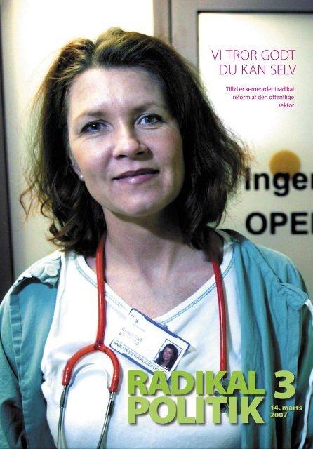 RADIKAL POLITIK 3-2007.indd - Radikale Venstre