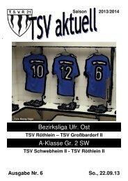 TSV aktuell Nr. 6 2013/14