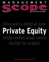 Wat u altijd al wilde weten van private equity maar nooit durfde ... - Nvp