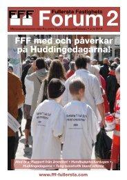 FFF med och påverkar på Huddingedagarna! - FFF-Fullersta.se
