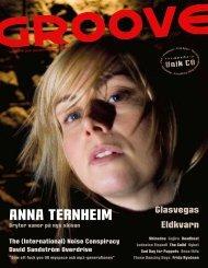 ANNA TERNHEIM - Groove