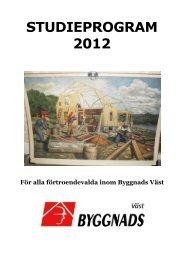 Extra Studieprogram 2010 - Byggnads