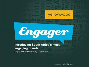 Introducing South Africa's most engaging brands.