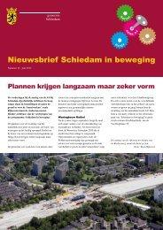 Nieuwsbrief Schiedam in beweging 10 - Gemeente Schiedam