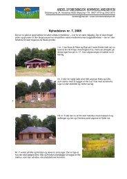 Nyhedsbrev nr. 7, jun. 2008 - Andelsforeningen Himmerlandsbyen