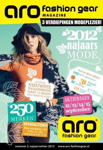 12 / 13 / 14 / 15 september - ARO Fashion Gear