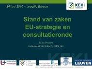 stand van zaken en consultatieronde - KeKi