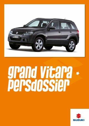 Persdossier Grand Vitara - Suzuki Press Corner