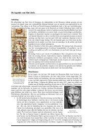 De legende van Sint Joris - Sint Joris Gilde Oirschot