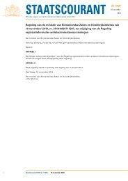 Gewijzigde regeling registratieformulier antidiscriminatie ... - Radar