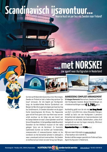 Scandinavisch ijsavontuur… met NORSKE!