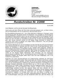 Rundschreiben Nr. 2/2008 - SV der Danziger Hochflieger