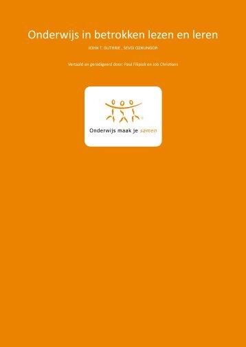 Download het hele artikel (PDF) - Onderwijs Maak Je Samen