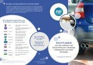 RICHTLIJNEN - Egea - European Garage Equipment Association