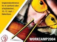 Flyer om Workcamp 04 - SUF