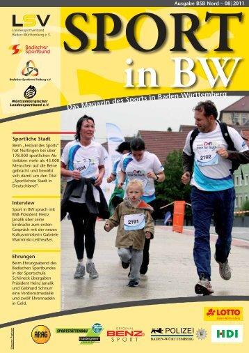 Download Sport in bw Nr. 08/11 - Badischer Sportbund Nord ev