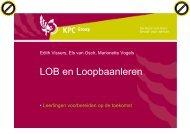 LOB en Loopbaanleren - Platform vmbo Verzorging / Zorg en Welzijn