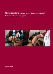 Tijdwijzer Zorg: Hoe werken we (beter) met onze ... - Innovatief in Werk