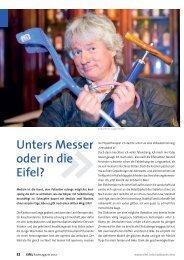 Unters Messer oder in die Eifel? - radwanderland.de