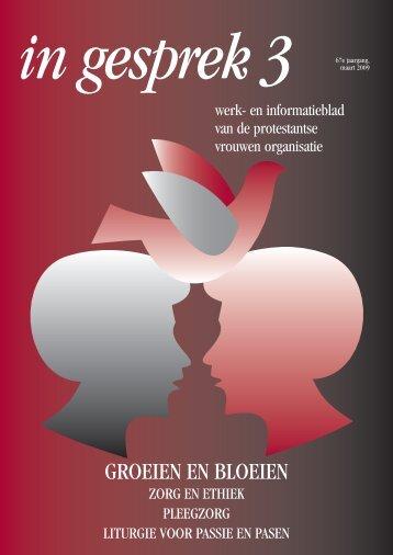 Maart - Protestantse Vrouwen Organisatie