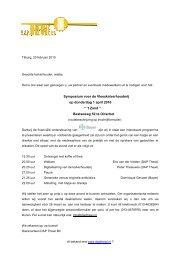 Klik hier voor het programma en de uitnodiging - Dap Thewi BV