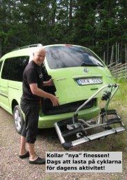 Dags att lasta på cyklarna för dagens aktivitet! - physiochraft.se
