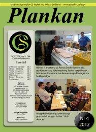 Plankan nr 4 2012 - GS - Facket för skogs-, trä