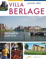 speciale editie 'hier begint het goede leven' - Villa Berlage