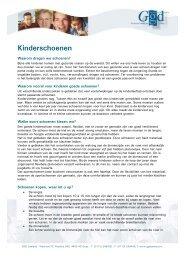 Kinderschoenen - GGD Zeeland