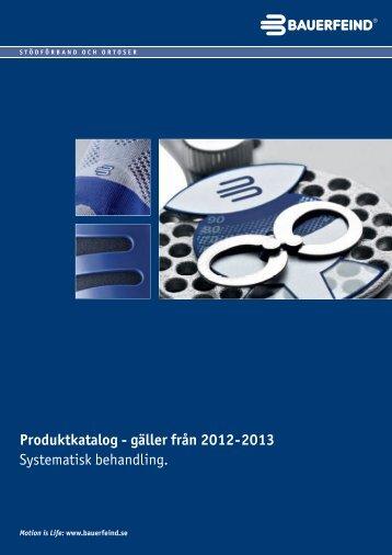 Produktkatalog - gäller från 2012-2013 Systematisk ... - Bauerfeind