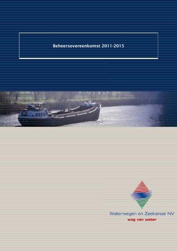 Beheersovereenkomst 2011-2015 - Waterwegen en Zeekanaal