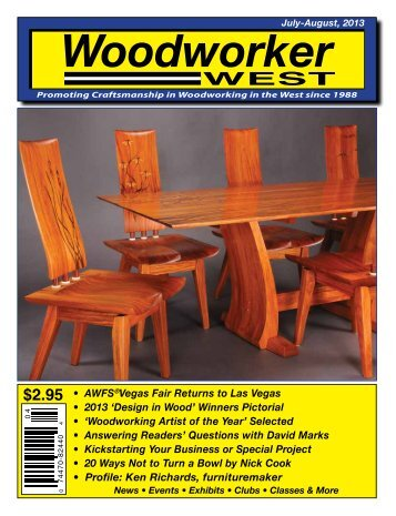 Woodworker West (July-August, 2013)