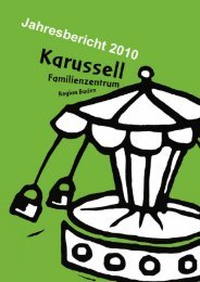 Jahresbericht 2010 - Karussell Baden