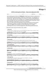 ADHD & Autismspektrumtillstånd – Observationshjälpmedel ... - Viss