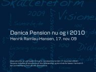 No Slide Title - E-Newsletter from Danica Pension