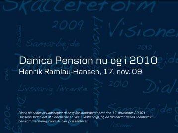 No Slide Title - E-Newsletter from Danica Pension
