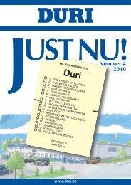Just Nu nr 4-10 :Layout 3 - Duri Svenska AB