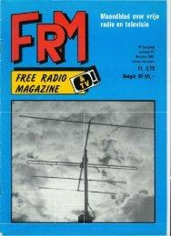Free Radio Magazine oktober 1981