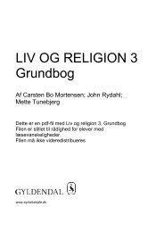 Grundbog LIV OG RELIGION 3 - Syntetisk tale