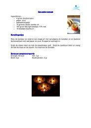 Gevulde tomaat Gevulde tomaat - Lijf & Balans
