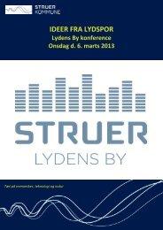 Opsamling fra Lydspor - Struer kommune