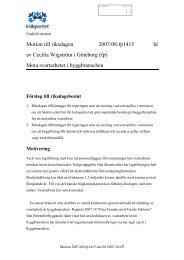 Motion till riksdagen 2007/08:fp1415 hl av Cecilia Wigström i ...
