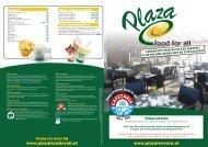 Download hier onze prijslijst - Plaza