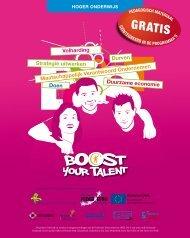 strategie uitwerken duurzame economie ... - Boost Your Talent