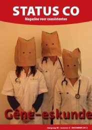Magazine voor coassistenten - Ko-Raad