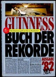 Guinness Buch der Rekorde '82